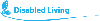 disability living charity logo