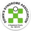 downs syndrome association charity logo