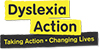 dyslexia action charity logo